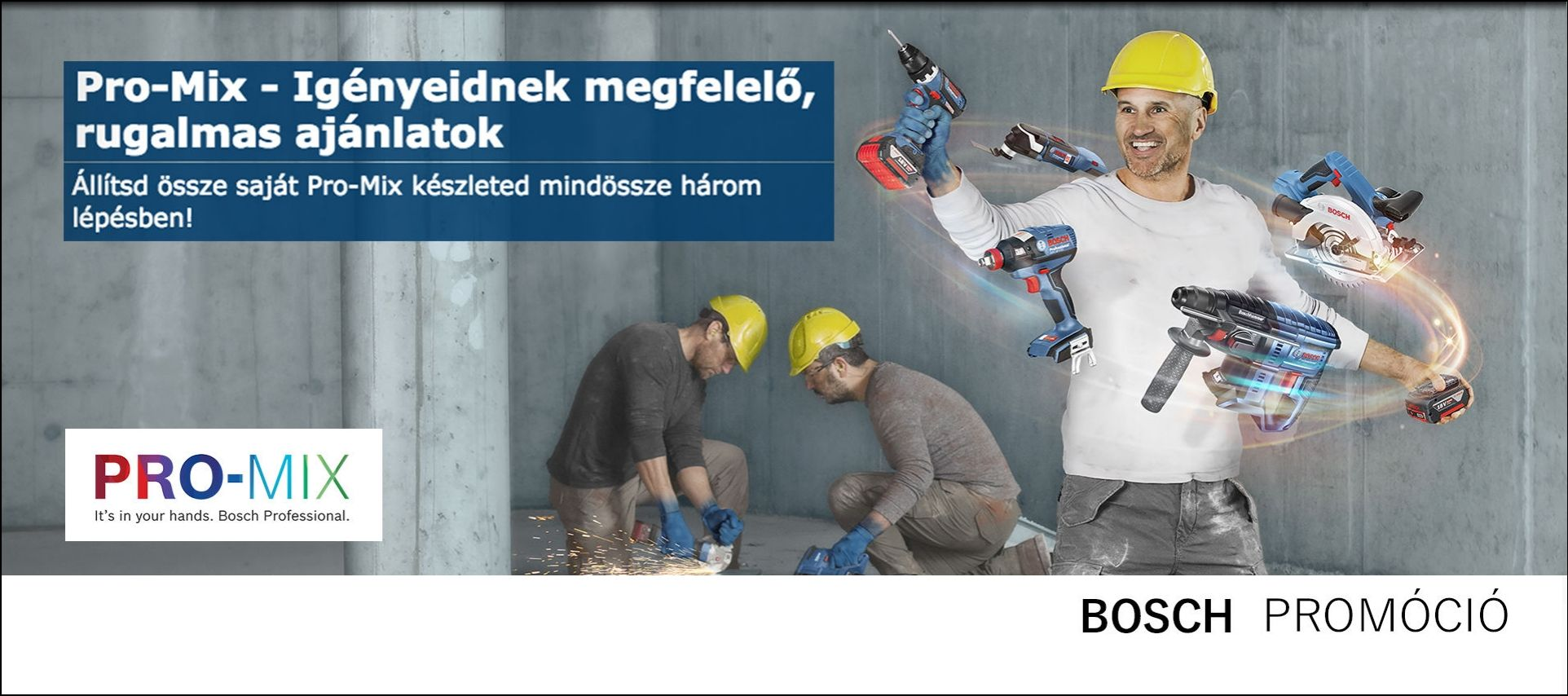 Robert Bosch Power Tools promóció