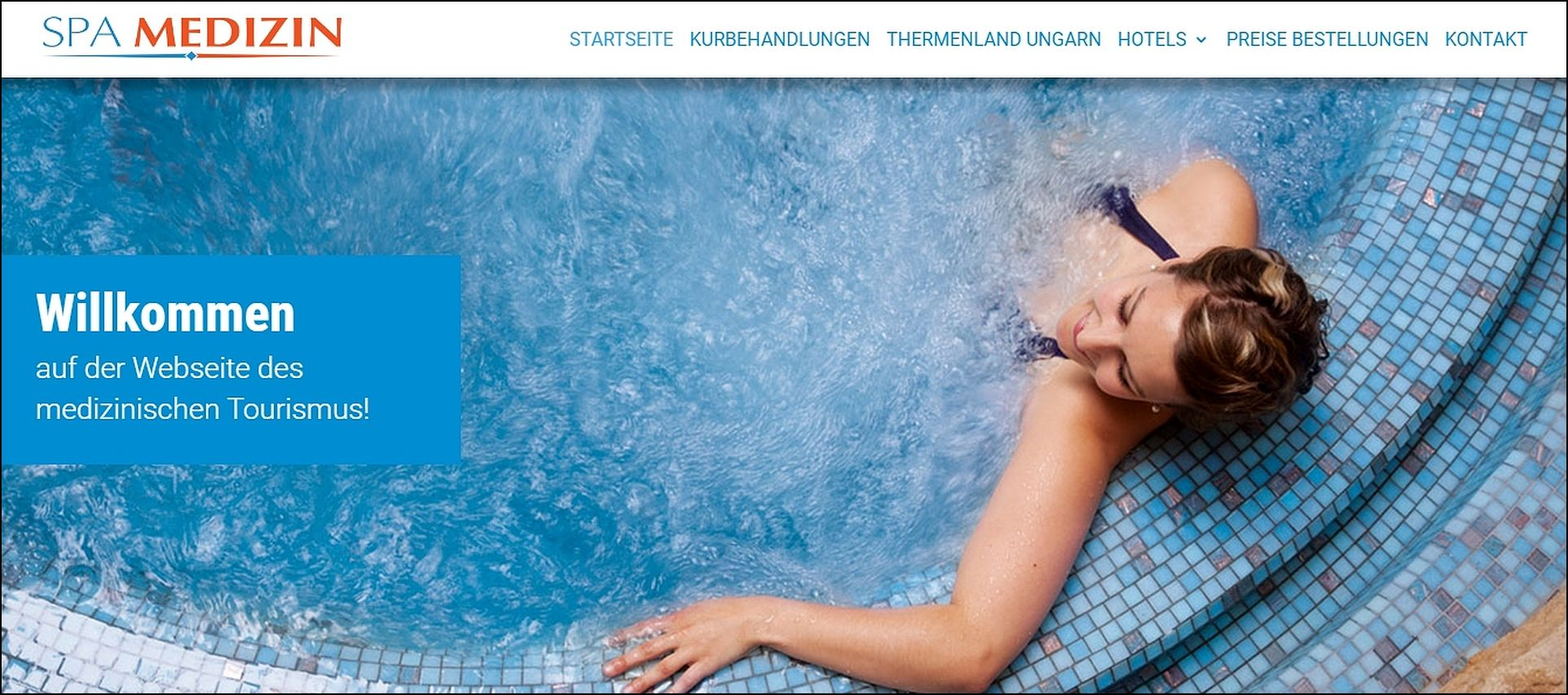 Spa-Medizin website