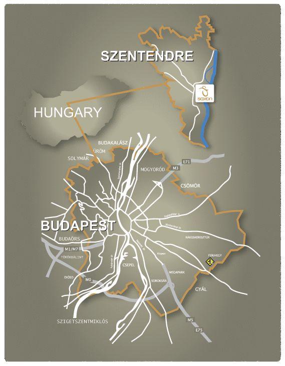 Saxon Reklámügynökség térkép