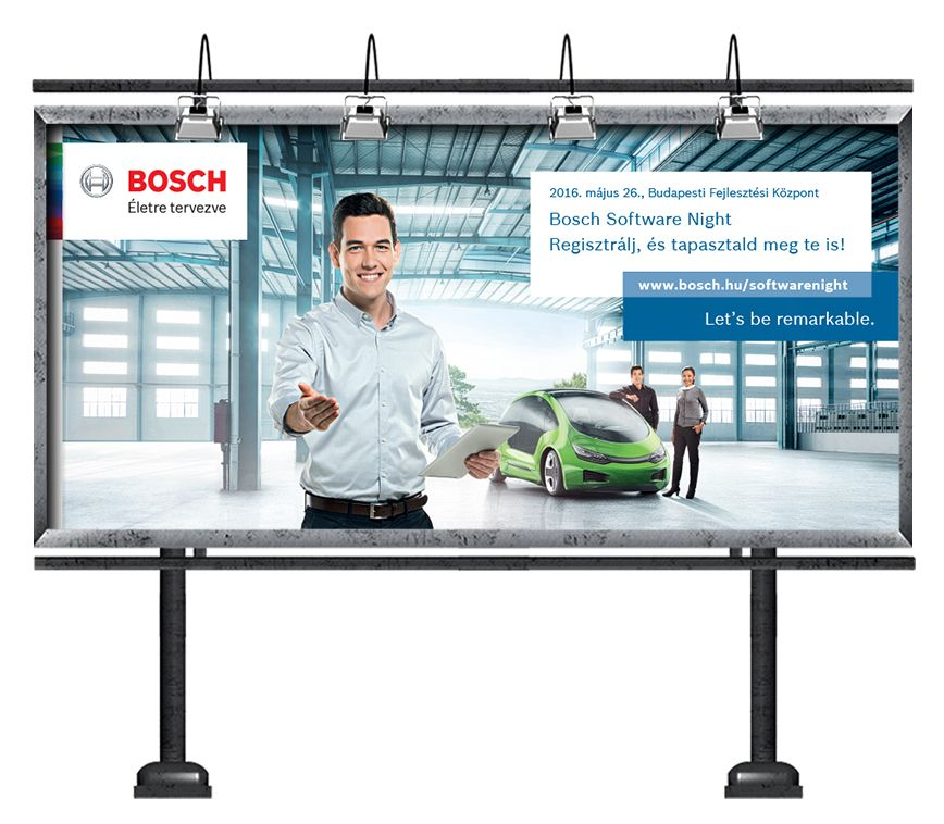 Robert Bosch - Open Day óriásplakát