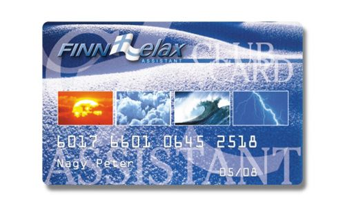 Finn Relax - Club card