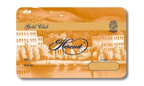 Herend - Club card