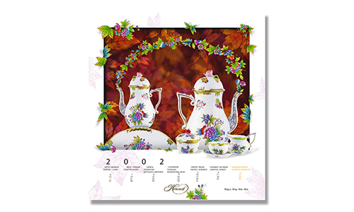 Herend - Calendar May