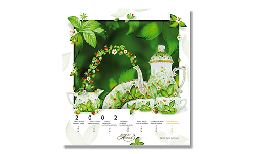 Herend - Calendar June