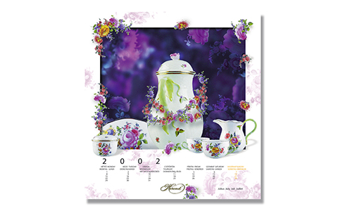 Herend - Calendar July