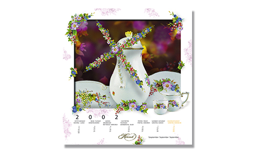 Herend - Calendar September