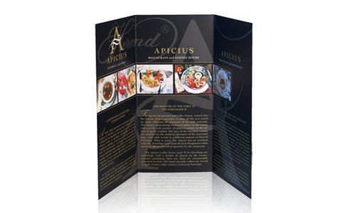 Apicius - Flyer (inside)