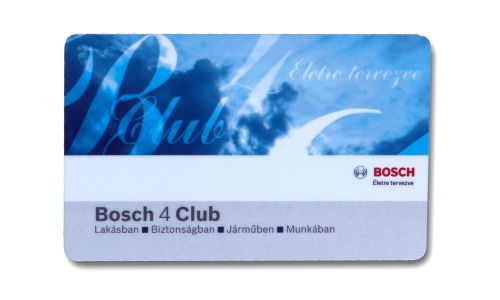 Robert Bosch - Club card