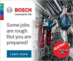 Robert Bosch - Power Tools banner