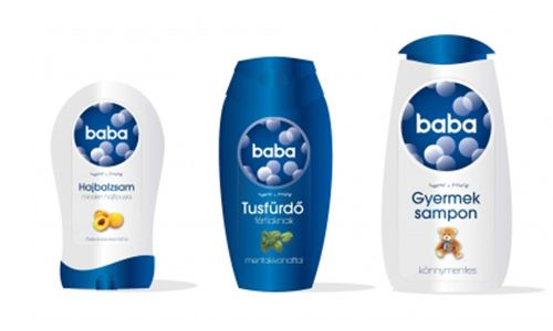 Unilever baba bubble bath packaging
