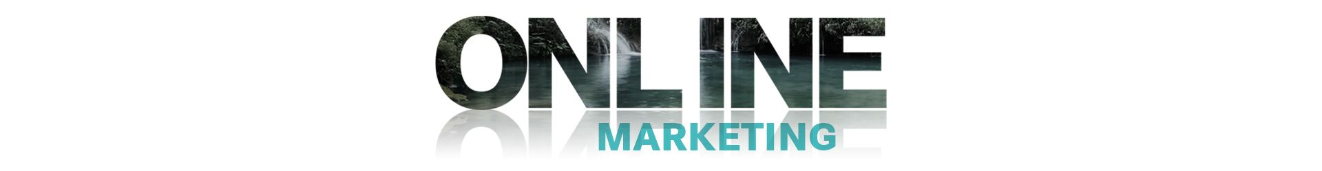 Online marketing main banner